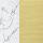 Carrara Marble/Brushed Brass